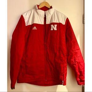 Nebraska Huskers puffer jacket
